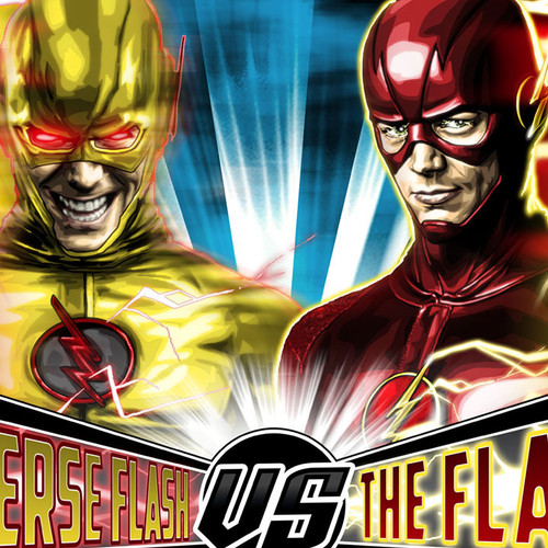 The Flash, Reverse Flash, Brian C. Roll, Odyssey Art, thbnail