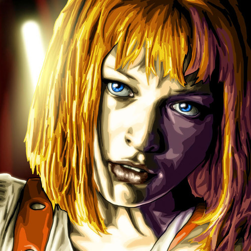 Leeloo, Fifth Element, Mila Jovavich, Brian C. Roll, Odyssey Art, thbnail