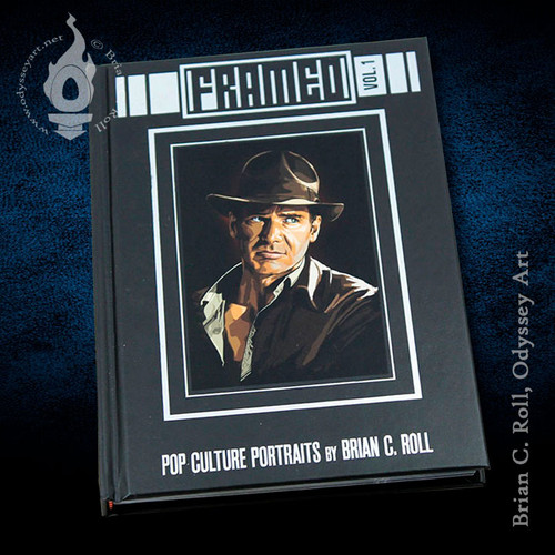 Framed Vol. 1, Book of Portraits, Brian C. Roll, Odyssey Art, cover