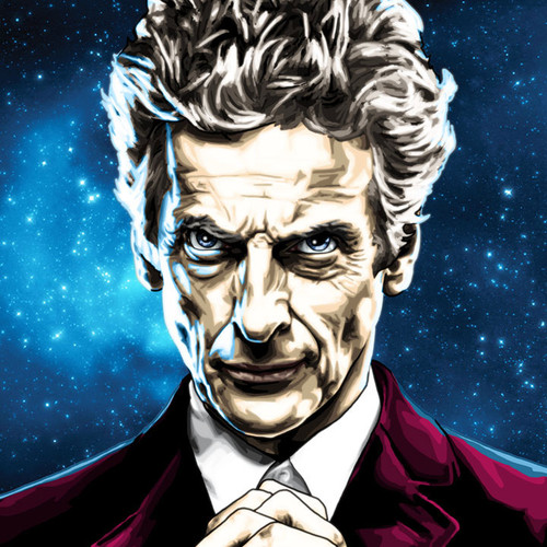 Doctor Who, Peter Capaldi, Twelfth Doctor, Brian C. Roll, Odyssey Art, thbnail