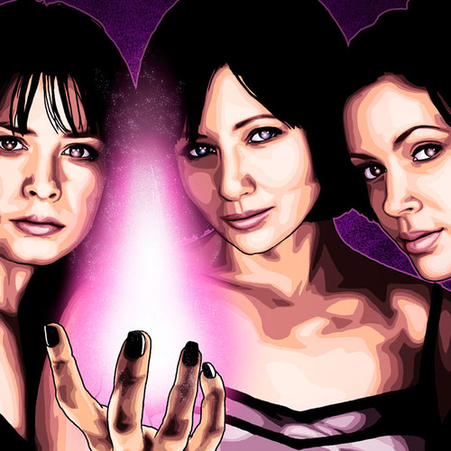 Charmed, Holly Marie Combs, Shannen Doherty, Alyssa Milano, Brian C. Roll, Odyssey Art, thbnail