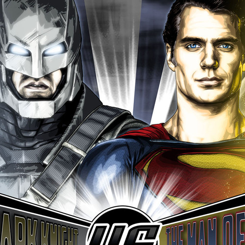 Batman VS Superman, Ben Affleck, Henry Cavill, Brian C. Roll, Odyssey Art, thbnail