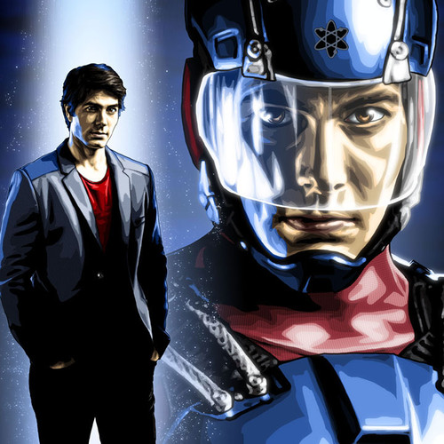 The Atom, Ray Palmer, Brandon Routh, Brian C. Roll, Odyssey Art, thbnail