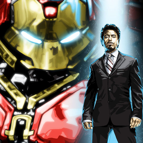 Hulkbuster, Iron Man, Tony Stark, Robert Downey Jr, Brian C. Roll, Odyssey Art, thbnail
