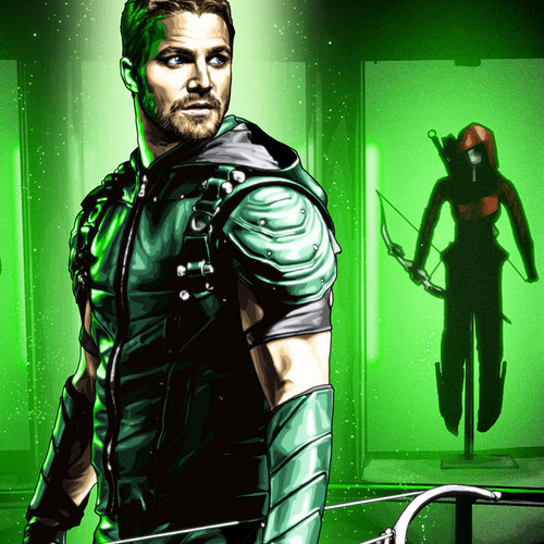 Green Arrow, Stephen Amell, Suit Up, Brian C. Roll, Odyssey Art, thbnail