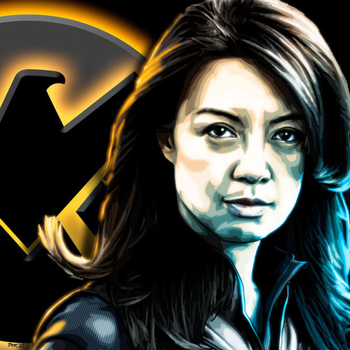 Melinda May, Ming-Na Wen, Agents of SHIELD, Brian C. Roll, Odyssey Art, thbnail