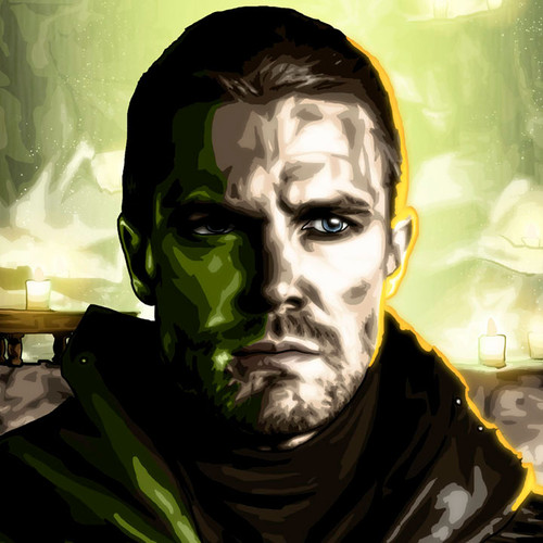Green Arrow, Al Sah-Him, Stephen Amell, Brian C. Roll, Odyssey Art, thbnail