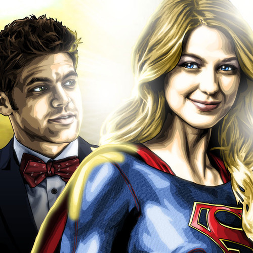 Supergirl, Kara Danvers, Team Supergirl, Winn, James Olsen, Brian C. Roll, Odyssey Art, thbnail