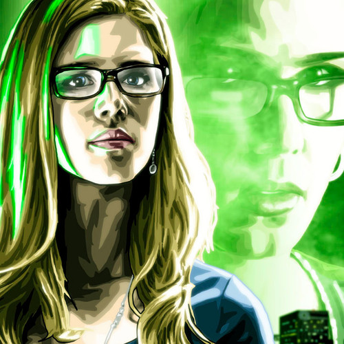 Felicity Smoak, Arrow, Emily Bett Rickards, Brian C. Roll, Odyssey Art, thbnail