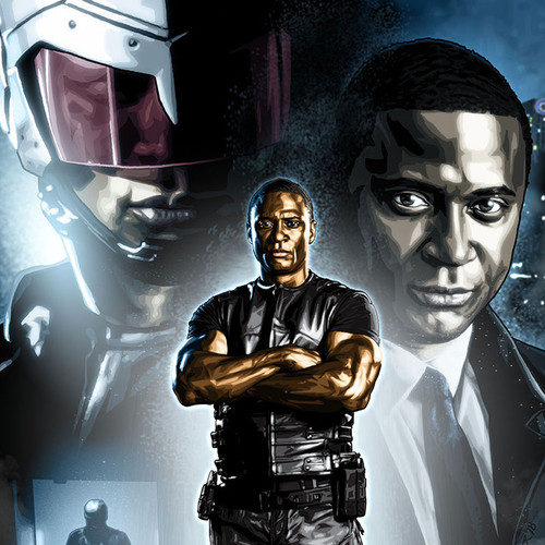 Arrow, John Diggle, Spartan, David Ramsey, Brian C. Roll, Odyssey Art, thumbnail