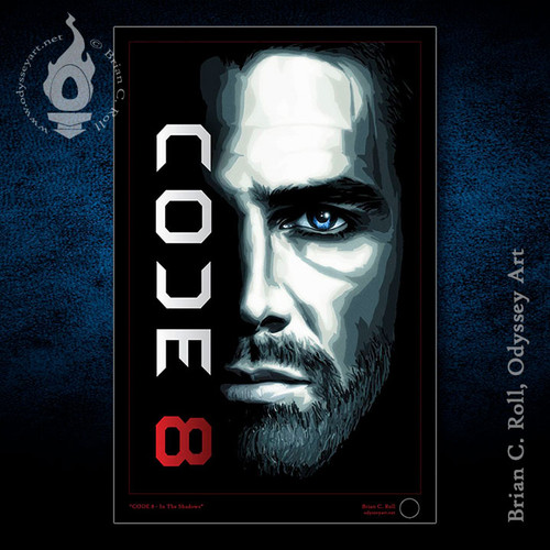 Code 8, Stephen Amell, Robbie Amell, Brian C. Roll, Odyssey Art