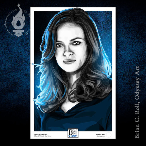 Danielle Panabaker, The Flash, Dr. Caitlin Snow, Brian C. Roll, Odyssey Art