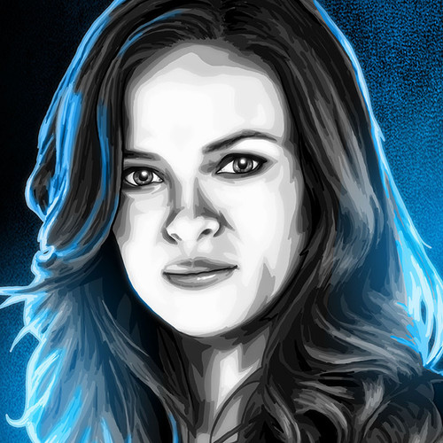 Danielle Panabaker, The Flash, Dr. Caitlin Snow, Brian C. Roll, Odyssey Art, thbnail