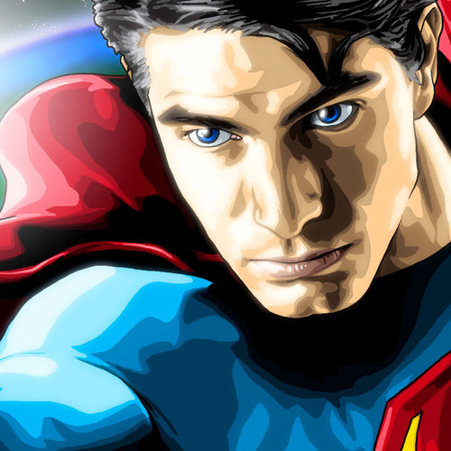Superman, Superman Returns, Brandon Routh, Brian C. Roll, Odyssey Art, thbnail