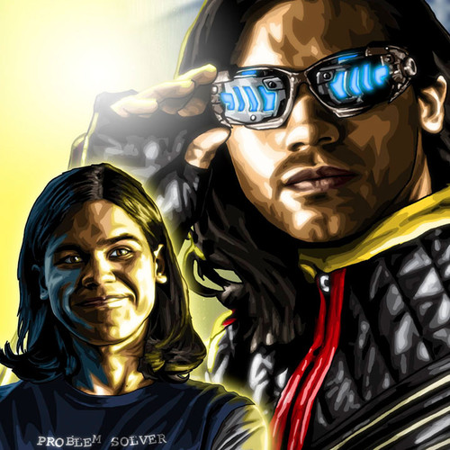Cisco Ramon, Carlos Valdes, The Flash, Brian C. Roll, Odyssey Art, thbnail