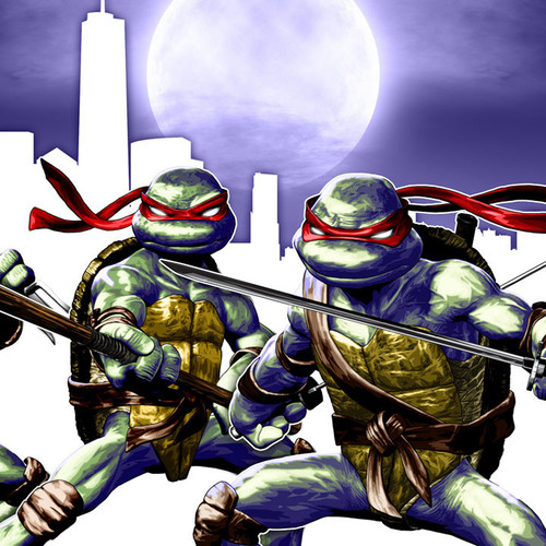TMNT, Teenage Mutant Ninja Turtles, Classic, Brian C. Roll, Odyssey Art, thbnail