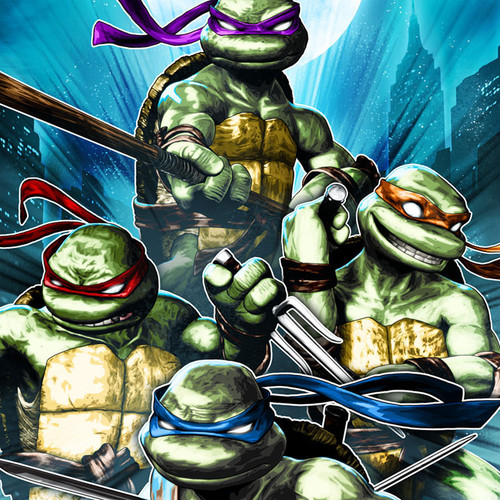TMNT, Teenage Mutant Ninja Turtles, Brian C. Roll, Odyssey Art, thbnail