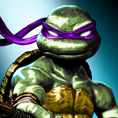 TMNT, Teenage Mutant Ninja Turtles, Donatello, Donnie, Brian C. Roll, Odyssey Art, thbnail