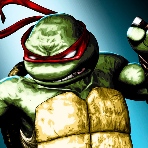 TMNT, Teenage Mutant Ninja Turtles, Raphael, Raph, Brian C. Roll, Odyssey Art, thbnail