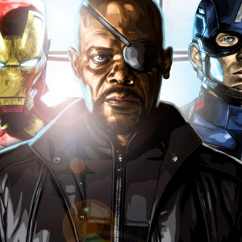 Avengers Initiative, Nick Fury, Brian C. Roll, Odyssey Art, thbnail
