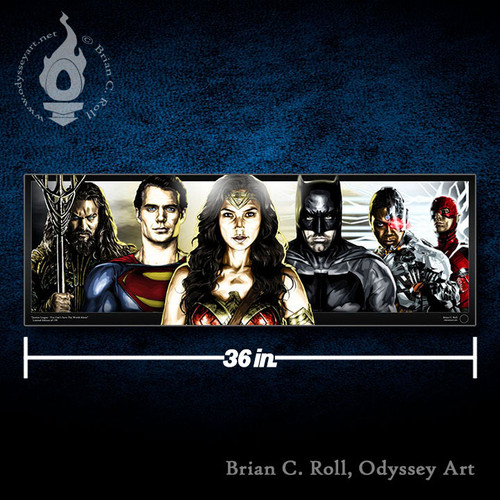 Justice League, Brian C. Roll, Odyssey Art