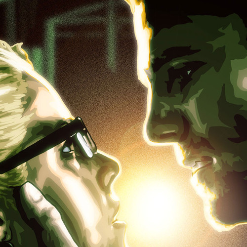 Oliver Queen, Stephen Amell, Felicity Smoak, Brian C. Roll, Odyssey Art, thbnail
