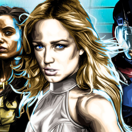 Legends of Tomorrow, White Canary, Caity Lotz, Brian C. Roll, Odyssey Art, thbnail