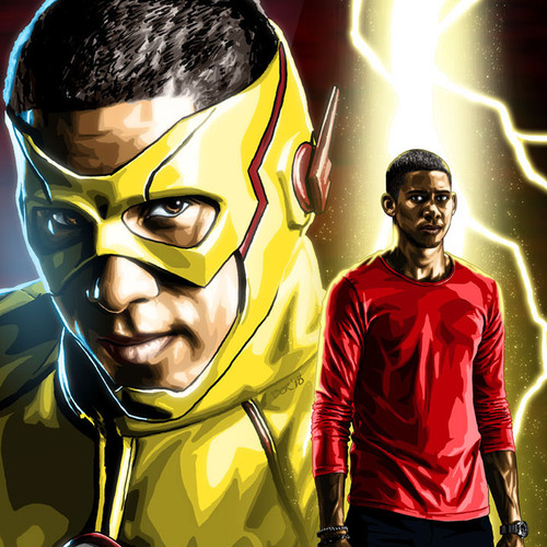 The Flash, Kid Flash, Wally West, Brian C. Roll, Odyssey Art, thbnail