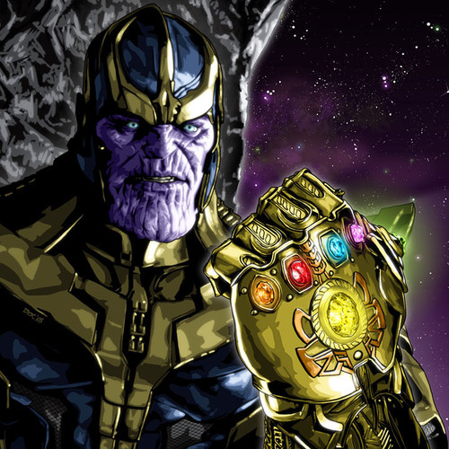 The Avengers, Thanos and The Infinity Gauntlet, Brian C. Roll, Odyssey Art, thbnail