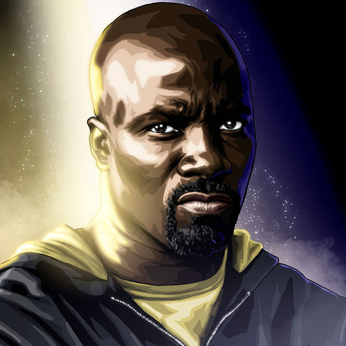 Luke Cage, Mike Colter, The Defenders, Brian C. Roll, Odyssey Art, thbnail