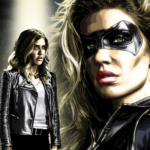 Black Canary, Dinah Drake, Arrow, Juliana Harkavy, Brian C. Roll, Odyssey Art, thbnail
