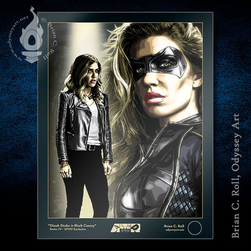 Black Canary, Dinah Drake, Arrow, Juliana Harkavy, Brian C. Roll, Odyssey Art