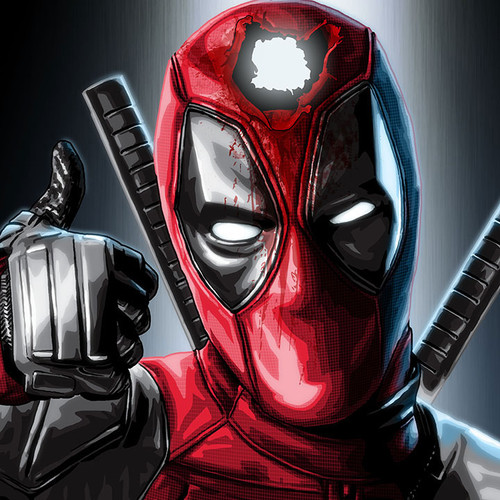 Deadpool, Wade Wilson, Ryan Reynolds, Hole in the Head, Brian C. Roll, Odyssey Art, thbnail