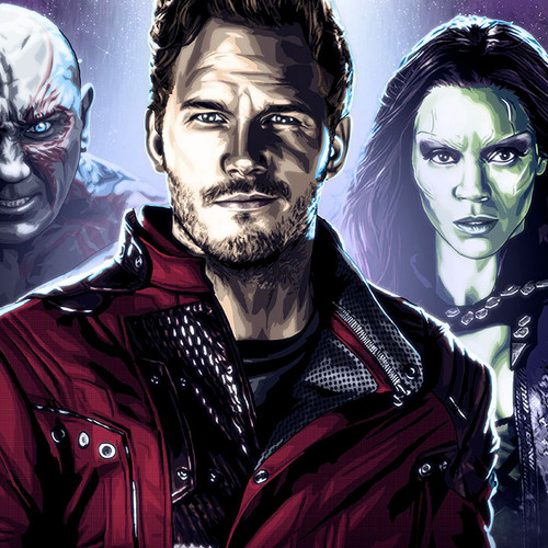 Guardians of the Galaxy, Chris Pratt, Star-Lord, Brian C. Roll, Odyssey Art, thbnail