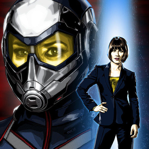 The Wasp, Hope Van Dyne, Evangeline Lily, Brian C. Roll, Odyssey Art, thbnail