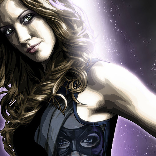 Arrow, Laurel Lance, Katie Cassidy, Black Canary, Brian C. Roll, Odyssey Art, thbnail