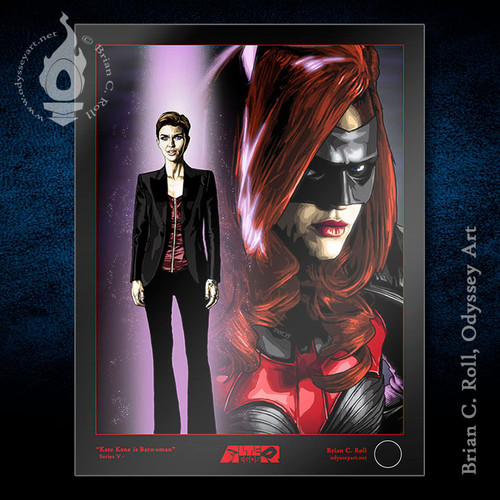 Batwoman, Kate Kane, Ruby Rose, Brian C. Roll, Odyssey Art