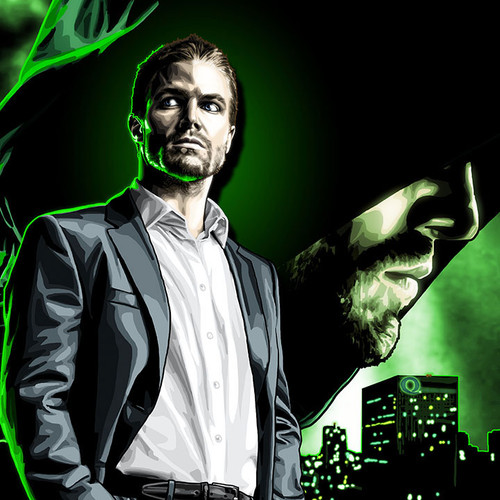 Arrow, Arrowverse, Oliver Queen, Green Arrow, Stephen Amell, Brian C. Roll, Odyssey Art, thbnail