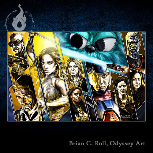 Legends of Tomorrow, Beebo & Co., Brian C. Roll, Odyssey Art