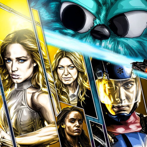 Legends of Tomorrow, Beebo & Co., Brian C. Roll, Odyssey Art, thbnail