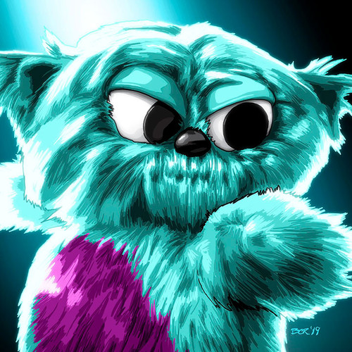 Legends of Tomorrow, Beebo, Brian C. Roll, Odyssey Art, thbnail
