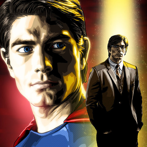 Superman, Clark Kent, Brandon Routh, Superman Returns, Brian C. Roll, Odyssey Art, thbnail