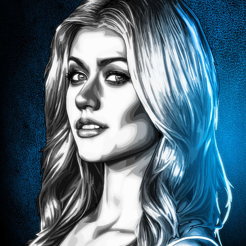 Kat McNamara, Arrow, Shadowhunters, Maze Runner, Brian C. Roll, Odyssey Art