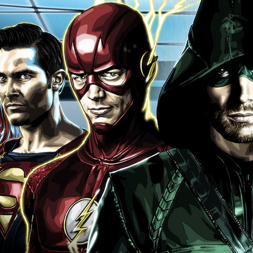 Arrowverse Art, Arrow, Flash, Supergirl, Legends of Tomorrow, Brian C. Roll, Odyssey Art