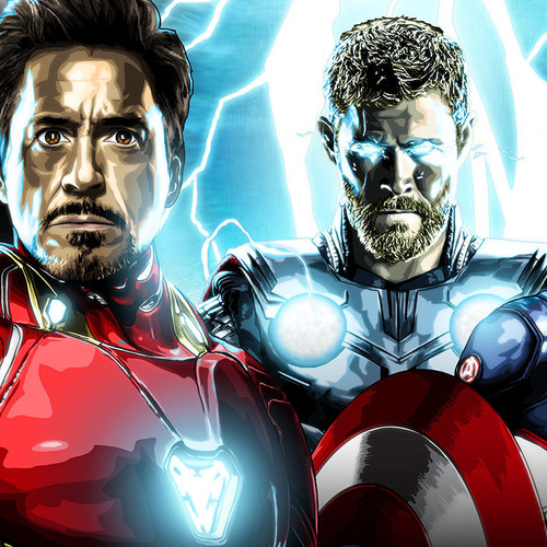 Avengers Prime, Iron Man, Captain America, Thor, Brian C. Roll, Odyssey Art, thbnail