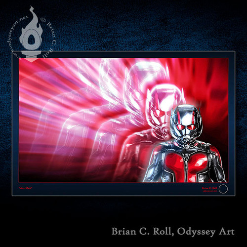 Ant-Man, Scott Lang, Brian C. Roll, Odyssey Art