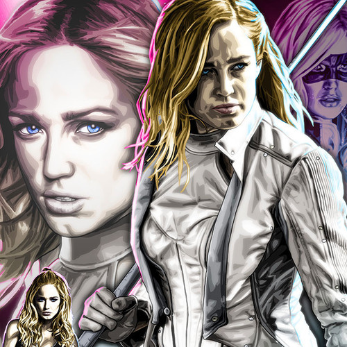 Sara Lance, White Canary, Caity Lotz, Legends of Tomorrow, Brian C. Roll, Odyssey Art, thbnail