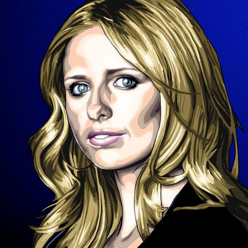 Buffy the Vampire Slayer, Sarah Michelle Gellar, Brian C. Roll, Odyssey Art, small, thbnail