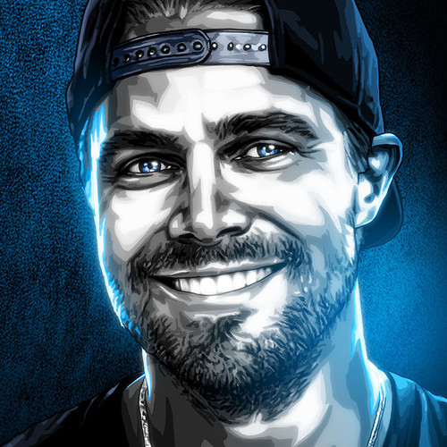 Black & White & Blue, Stephen Amell, Arrow, Green Arrow, Brian C. Roll, Odyssey Art, thbnail