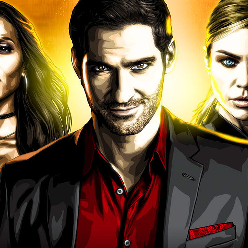 Lucifer, Tom Ellis, Panorama, Brian C. Roll, Odyssey Art, thbnail